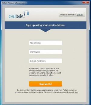Paltalk-Messenger