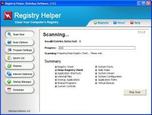 RegistryHelper