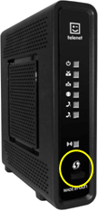 Wifi repeater telenet